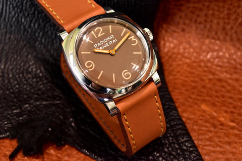 Acorn Leather Watch Strap