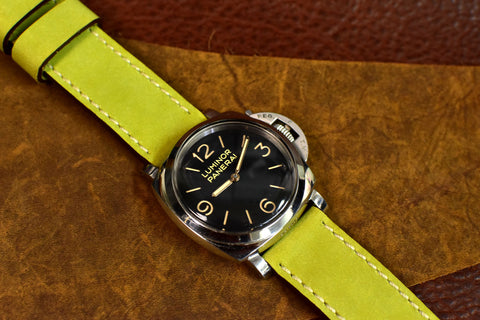 Alfalfa Leather Watch Strap