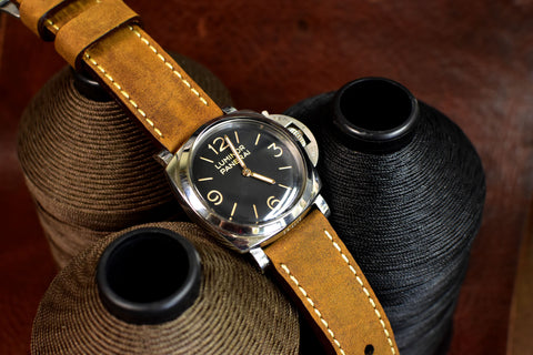 Churro Leather Watch Strap