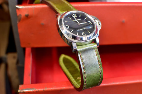 Fern Grove Leather Watch Strap