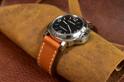 Gas Hammer Leather Watch Strap