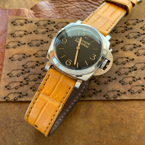 Golden Gator Watch Strap