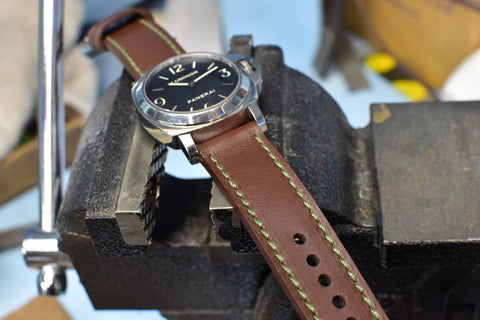 Riveter Leather Watch Strap