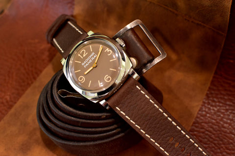 Spelunker Leather Watch Strap