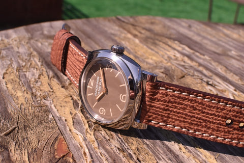 Atoll custom watch strap