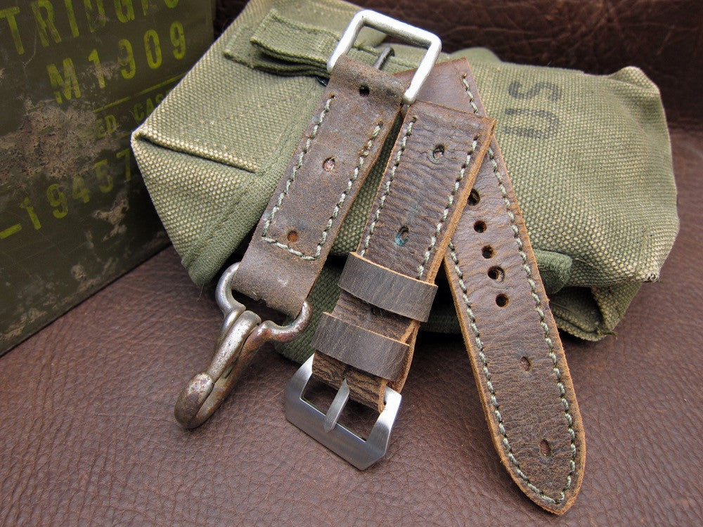 a727521b0 Vintager Straps by Micah, custom leather watch straps for all brands