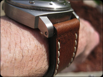 Brindle watch band gallery