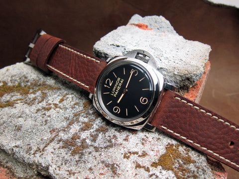 Corojo handmade leather watch strap PAM 372