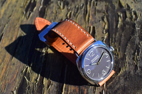 Dublin Horween fine leather watch strap