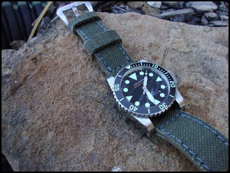 French Canvas watch band gallery
