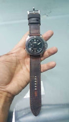 Mauser Ammo strap on Panerai Submersible