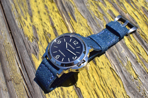 Rolled Denim watch strap