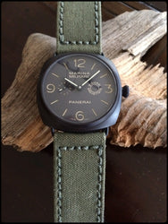 Rolled American Canvas watch band gallery