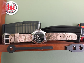 Rolled Digi Camo watch band gallery