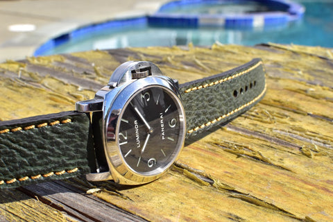 Sea Monster custom crafted shark strap for Panerai