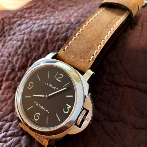 Thudder Leather Watch Strap