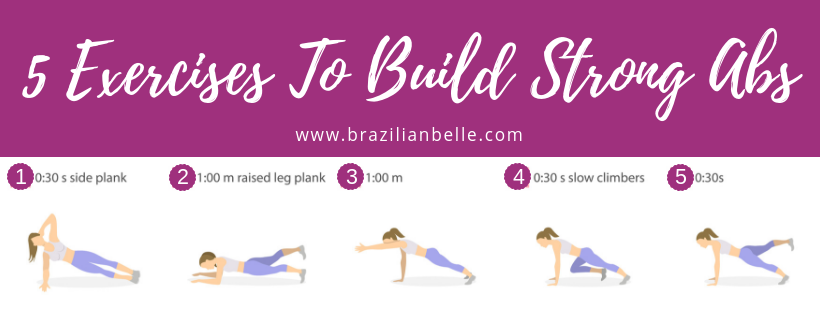 No Gym, No Problem! 5 At- Home Bodyweight Plank Exercises To Build Strong Abs!