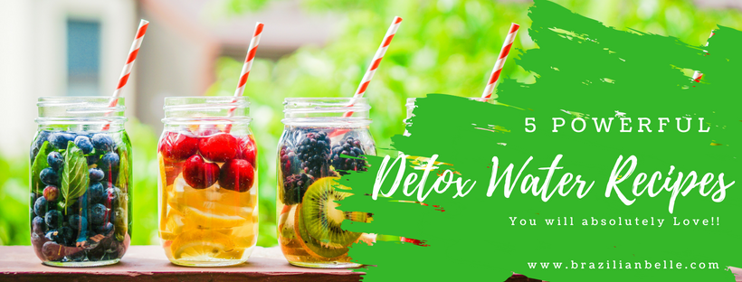 5 Powerful Detox Waters You Will Absolutely Love ❤