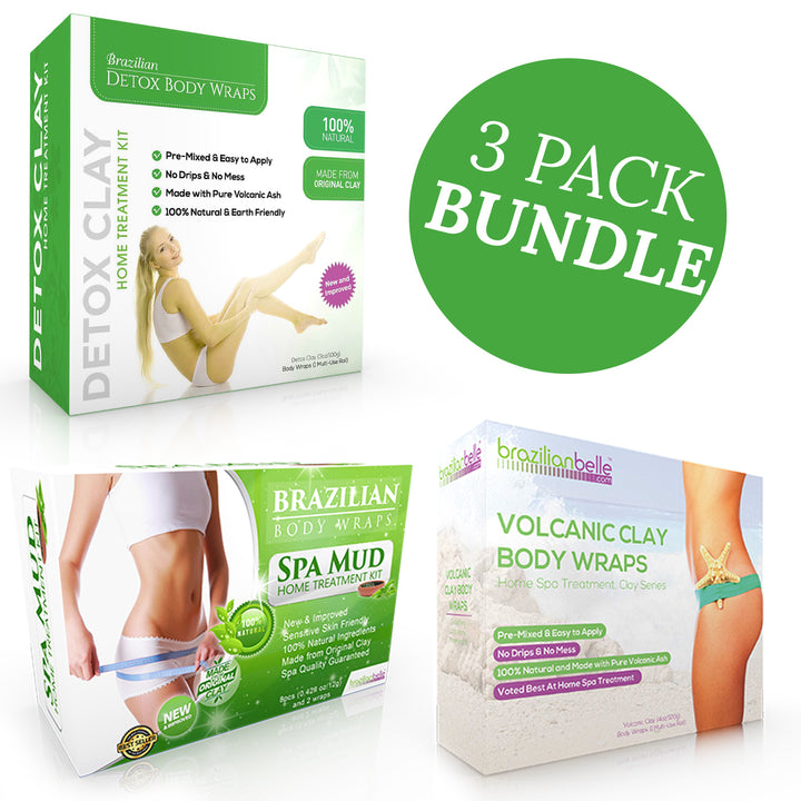 Ultimate Brazilian Belle Body Wraps Bundle