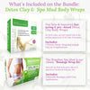 Brazilian Detox Clay & Spa Mud Body Wraps Bundle