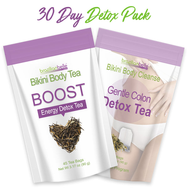 30-Day Morning+Night Detox Combo Pack