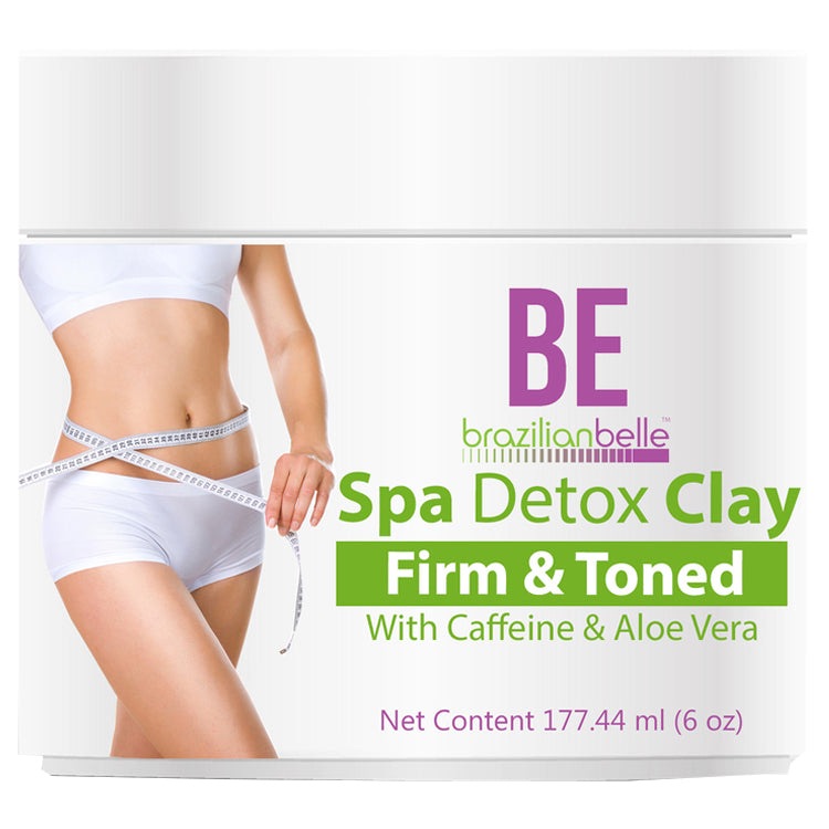Brazilian Spa Detox Clay for Inch Loss Body Wraps