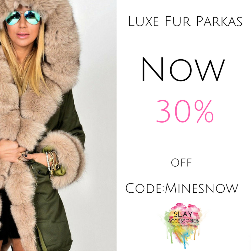 Luxury Fur Parkas, Still A Must Have
