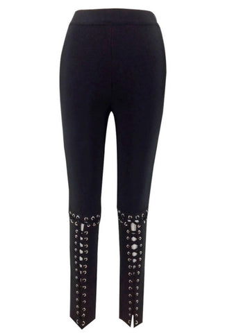 Shema Black Leggings