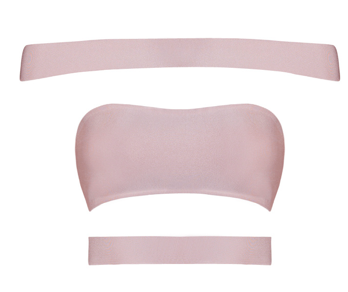 Stefani Blush Crop Top