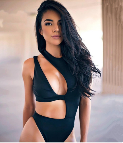 Abeona Black Bandage Swimsuit