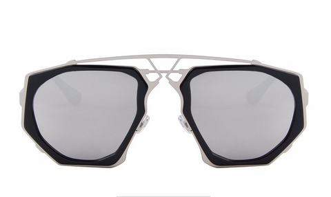 Ali Silver Mirror Sunglasses