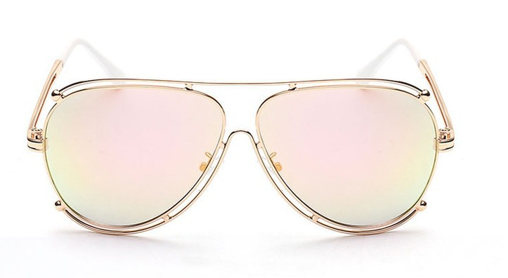 golden frame aviator sunglasses  Gold Frame Aviator Sunglasses \u2013 Slay Accessories