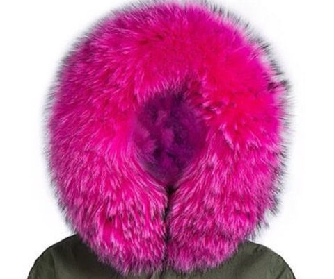 Fur Parka Collar
