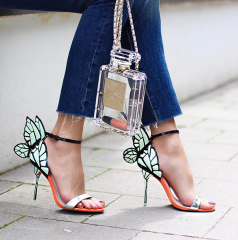 Grace Angel Mint Wings Sandals