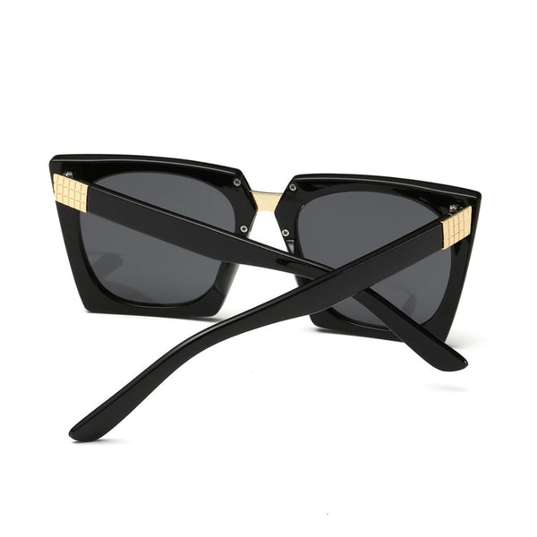 Designer Style Large Cat Eye Sunglasses Vintage Women Sun Glasses