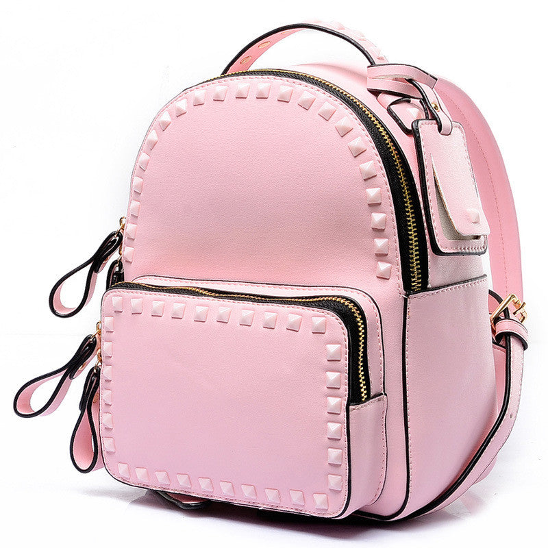 Mini Studded Fashion Backpack Handbag
