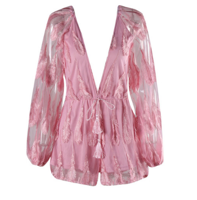 Soho Pink Playsuit
