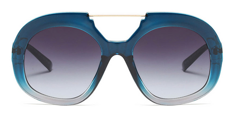 Slay Accessories. Designer style oversized sunglasses. Ombre style design, available in 7 colors.