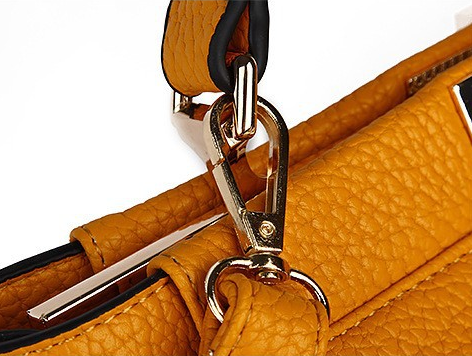 Fashion Twist Lock Messenger Bag Women Designer Style Handbag