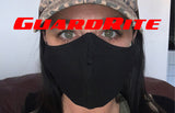 GuardRite Black Fabric Mask
