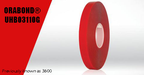 "1/2""x55yds ORABOND® UHB03110G Ultra High Bond Tape"