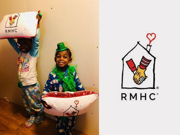 Ronald McDonald House Charities Custom Pillow