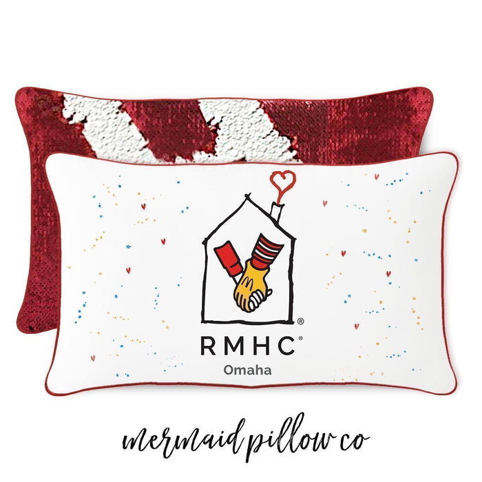 Ronald McDonald House Omaha & MPC collaborate on RMHC-themed Pillow
