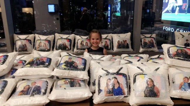 Bat Mitzvah Custom Pillows