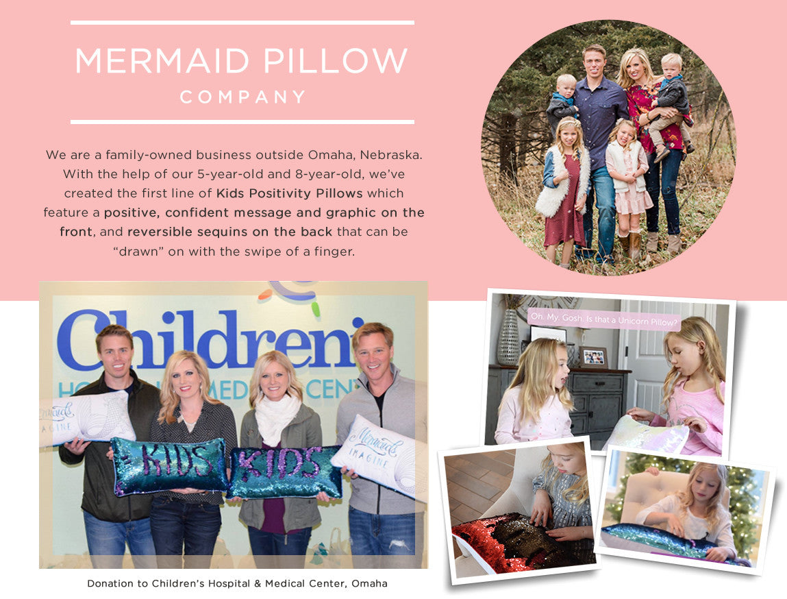About Mermaid Pillow Co