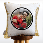 *Add Your Photo* Father's Day Mermaid Pillow