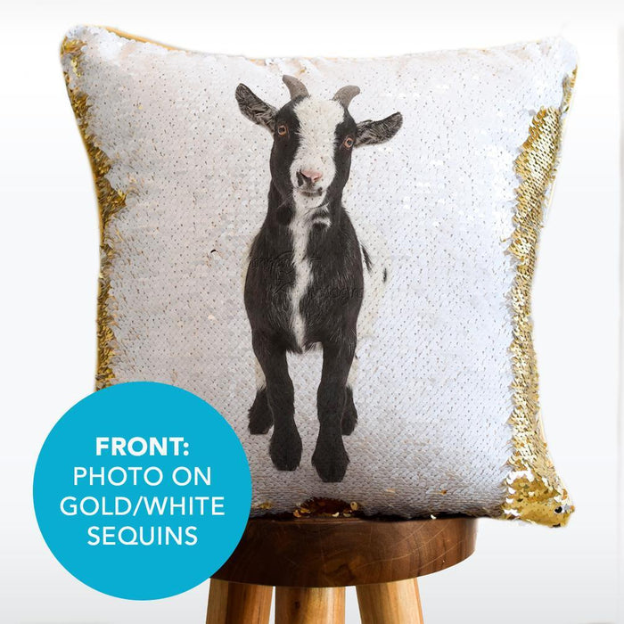 Pygmy Pillow: A Pygmy revealed on a HIDDEN Sequin Pillow | COVER ONLY (Inserts Sold Separately)