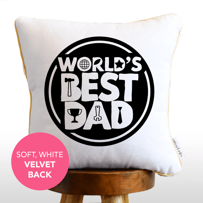 *Add Your Photo* Father's Day Personalized Sequin Photo Pillow