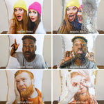 Two-Faced Pillows: Business on the front, Party on the back! - Mermaid Pillow Co