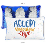ACCEPT Pillow & Velvet Blanket Set (+ FREE Bracelet) - Mermaid Pillow Co